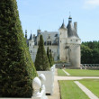 Stock Photo: Chateau de Chenonceau. Loire. France