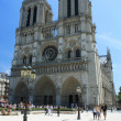 France. Paris. Notre Dame de Paris — Stock Photo