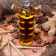Stock Photo: Oil and natural products