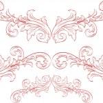 Ornate flowers — Stock Vector #8571679