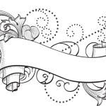 Scrolling banner — Stock Vector