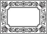 Baroque frame — Stock Vector