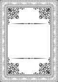 Classic vintage frame — Stock Vector