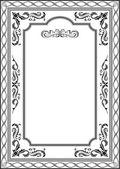 Exellent vintage frame — Stock Vector