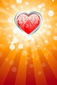 Astratto sfondo san valentino — Vettoriale Stock