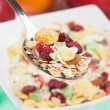 Muesli with dried fruit — Stock Photo #8412393