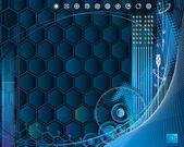 Cybertech — Stockvektor