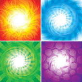 Four Elements — Stock Vector