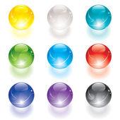 Boule de cristal — Vecteur