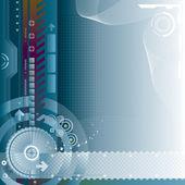 Technologické zázemí — Stock vektor