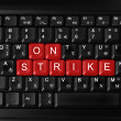 On strike — Stock Photo