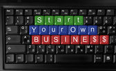 Start your own business — Stockfoto
