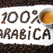 100 % arabica — Stock Photo #8399826