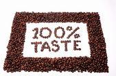 100 % taste — Stock Photo