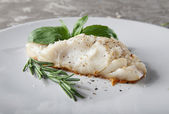 Prepared cod — Stock Photo