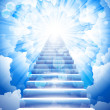 Stairway to heaven - Stock Vector