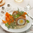 Meat and egg ball — Stock Photo #10677659