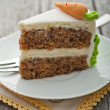 Stock Photo: Carrot cake