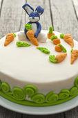 Bunny cake — Stock Photo