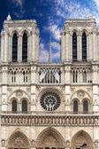 France. Paris. Notre-Dame — Stock Photo