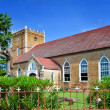 Stock Photo: Ancient colonial church. Jamaica