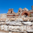 Bulgaria. Nesebr. Ruins of ancient church — Stock Photo