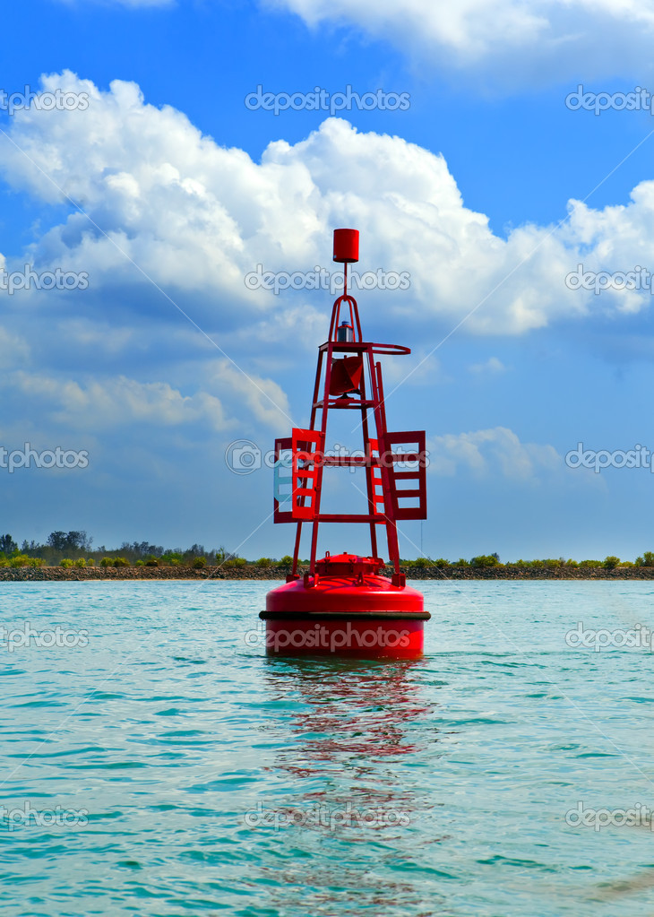 Beacon in the sea — Stock Photo #9247709