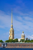 Russia. Petersburg. Peter and Paul Fortress spike. — Stock Photo