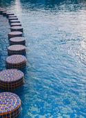プールの美しい水面 — ストック写真