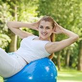Fitness kadın — Stok fotoğraf