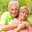 Happy senior woman and man — Stock Photo #9616819
