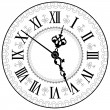 Royalty-Free Stock Vector Image: Antique clock