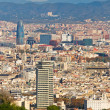 Stock Photo: Aerial view of Barcelonfrom Montjuic