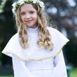 First Communion - portrait — Stock Photo #10570749