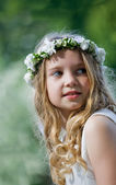 First Communion - portrait — Stock Photo