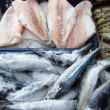 frozen fish — Stock Photo