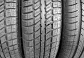 Tire background — Stock Photo