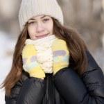Winter portrait — Stock Photo #9456384
