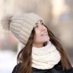 Winter portrait — Stock Photo #9471671