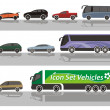 Vehicles - Stock Vector