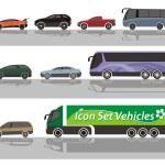 Vehicles — Stock Vector