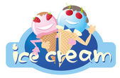 Icecream — Vector de stock