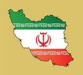Iranflag — Stock Vector