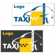Taxi card - Stock Vector