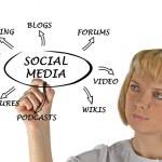 Diagram of social media — Stock Photo #10051114
