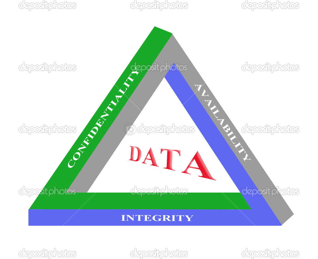 Principles of data management — Stock Photo #8083774