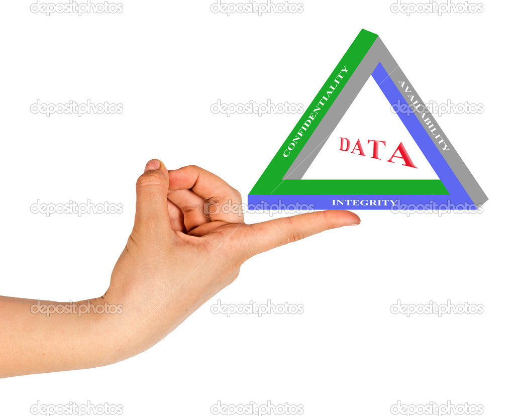 Principles of data management — Stock Photo #8103688