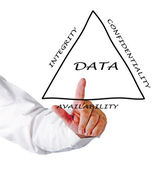 Principles of data management — Stock Photo