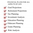 checklist for financial plans — Stock Photo #9379682