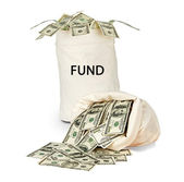 Bag with fund — Stock Photo